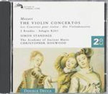 Foto Cover di Concerti per violino completi, CD di AA.VV prodotto da Decca