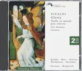 CD Gloria - Nisi Dominus - Cantate di Antonio Vivaldi