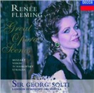 Great Opera Scenes - CD Audio di Renée Fleming,Georg Solti,London Symphony Orchestra