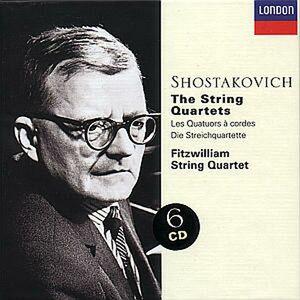 CD Quartetti per archi completi di Dmitri Shostakovich