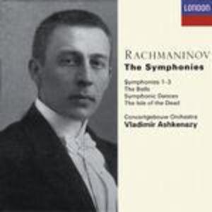 CD Sinfonie complete di Sergei Vasilevich Rachmaninov