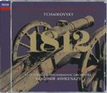 CD Ouverture 1812 - Romeo e Giulietta di Pyotr Il'yich Tchaikovsky