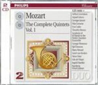 CD Quintetti per archi vol.1 di Wolfgang Amadeus Mozart