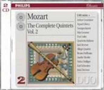 CD Quintetti per archi vol.2 di Wolfgang Amadeus Mozart
