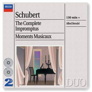 CD Impromptus completi - Momenti musicali di Franz Schubert