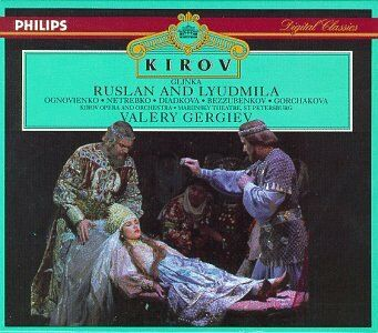 CD Rusian And Lyudmila di Mikhail Ivanovic Glinka