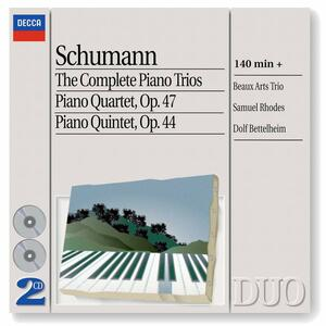 Trii con pianoforte n.1, n.2, n.3 - Quartetto con pianoforte - Quintetto con pianoforte - CD Audio di Robert Schumann,Beaux Arts Trio