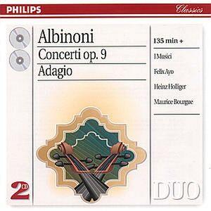 Foto Cover di Concerti per archi op.9 - Adagio, CD di AA.VV prodotto da Philips