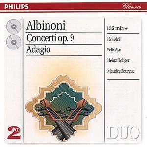 CD Concerti per archi op.9 - Adagio di Tomaso Giovanni Albinoni