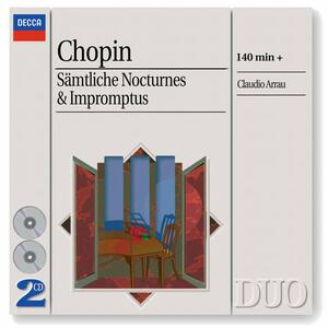 Notturni - Improvvisi - CD Audio di Fryderyk Franciszek Chopin,Claudio Arrau