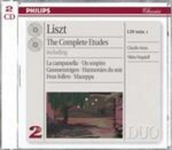 CD Studi per pianoforte completi di Franz Liszt