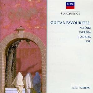 Guitar Favourites - CD Audio di Pepe Romero