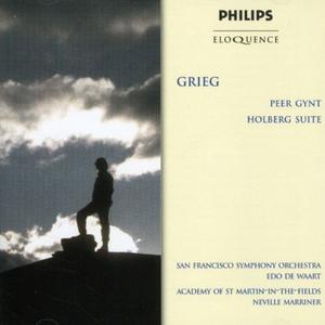 CD Peer Gynt - Holberg Suite di Edvard Grieg