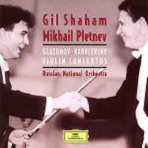 CD Concerti per violino Alexander Kostantinovich Glazunov , Dmitri Borissovic Kabalevsky