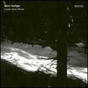 CD Lieder Ohne Worte di Heinz Holliger