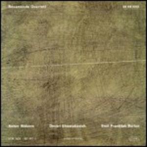 CD Langsamer Satz per quartetto d'archi di Anton Webern