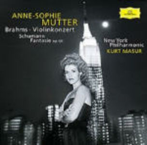 CD Concerto per violino / Fantasia per violino op.131 Johannes Brahms , Robert Schumann