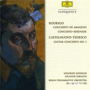CD Concerto De Aranjuez di Joaquin Rodrigo