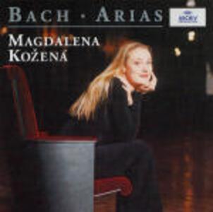 Arie - CD Audio di Johann Sebastian Bach,Magdalena Kozena