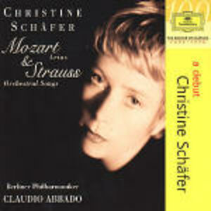 CD Lieder Wolfgang Amadeus Mozart , Richard Strauss