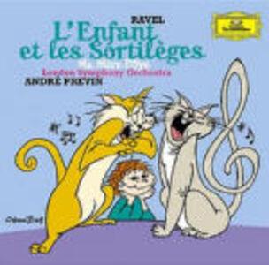 CD L'enfant et les sortilèges - Ma mère l'Oye di Maurice Ravel