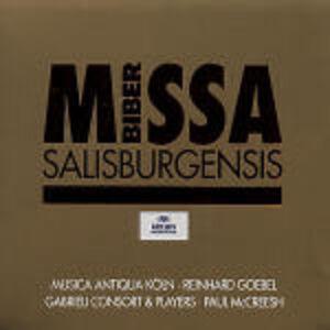 CD Missa Salisburgensis di Heinrich Ignaz Franz Von Biber