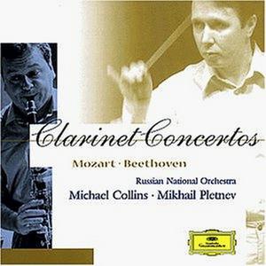 CD Concerti per clarinetto Ludwig van Beethoven , Wolfgang Amadeus Mozart