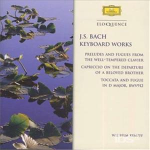 CD Preludi - Toccata & Fughe di Johann Sebastian Bach