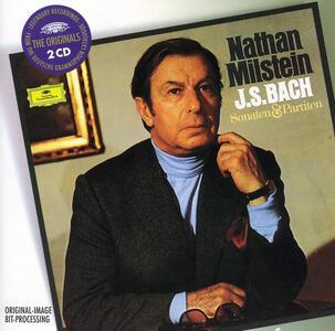 Sonate e Partite per violino - CD Audio di Johann Sebastian Bach,Nathan Milstein