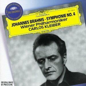 Sinfonia n.4 - CD Audio di Johannes Brahms,Carlos Kleiber,Wiener Philharmoniker