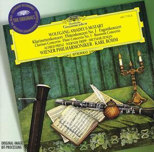 Concerti per strumenti a fiato - CD Audio di Wolfgang Amadeus Mozart,Karl Böhm,Wiener Philharmoniker