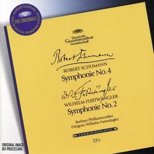 CD Sinfonia n.4 / Sinfonia n.2 Robert Schumann , Wilhelm Furtwängler