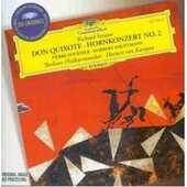 CD Don Chisciotte (Don Quixote) - Concerto per corno n.2 Richard Strauss Herbert Von Karajan Berliner Philharmoniker