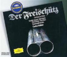 Il franco cacciatore (Der Freischütz) - CD Audio di Carl Maria Von Weber,Gundula Janowitz,Peter Schreier,Theo Adam,Edith Mathis,Carlos Kleiber,Staatskapelle Dresda