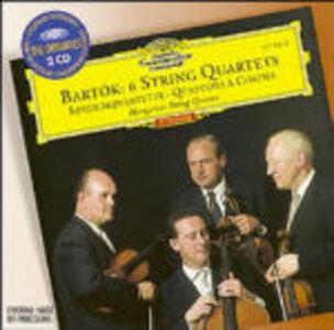 CD Quartetti per archi completi di Bela Bartok