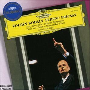 Hary Janos - Psalmus Hungaricus - CD Audio di Zoltan Kodaly,Ferenc Fricsay,Radio Symphony Orchestra Berlino,Ernst Haefliger
