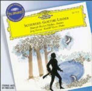 Foto Cover di Goethe Lieder, CD di AA.VV prodotto da Deutsche Grammophon