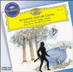 CD Goethe Lieder di Franz Schubert