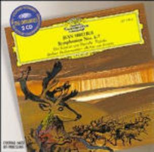 CD Sinfonie n.4, n.7 - Il cigno di Tuonela - Tapiola di Jean Sibelius