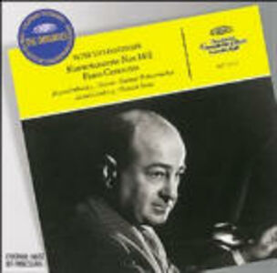 CD Concerti per pianoforte n.1, n.2 di Pyotr Il'yich Tchaikovsky