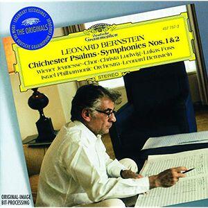 Foto Cover di Sinfonie n.1, n.2 - Chichester Psalms, CD di Leonard Bernstein,Israel Philharmonic Orchestra, prodotto da Deutsche Grammophon
