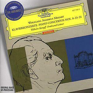 CD Concerti per pianoforte n.8, n.23, n.24 di Wolfgang Amadeus Mozart