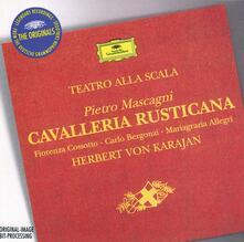 Cavalleria rusticana - CD Audio di Pietro Mascagni,Herbert Von Karajan,Carlo Bergonzi,Fiorenza Cossotto,Orchestra del Teatro alla Scala di Milano