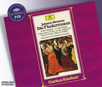 Foto Cover di Il pipistrello (Die Fledermaus), CD di AA.VV prodotto da Deutsche Grammophon