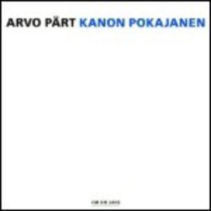 CD Kanon Pokajanen di Arvo Pärt