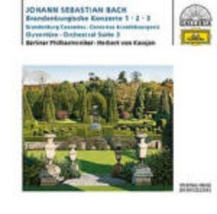 CD Concerti brandeburghesi n.1, n.2, n.3 - Suite per orchestra n.3 di Johann Sebastian Bach