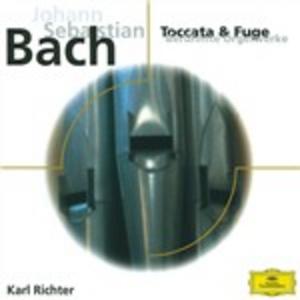 CD Toccate e fughe di Johann Sebastian Bach