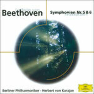 Foto Cover di Sinfonie n.5, n.6, CD di Ludwig van Beethoven, prodotto da Eloquence