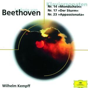Sonate per Pianoforte n.14, n.17 - CD Audio di Ludwig van Beethoven