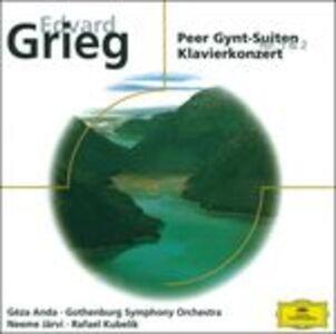 CD Peer Gynt Suite n.1, n.2 - Concerto per pianoforte di Edvard Grieg